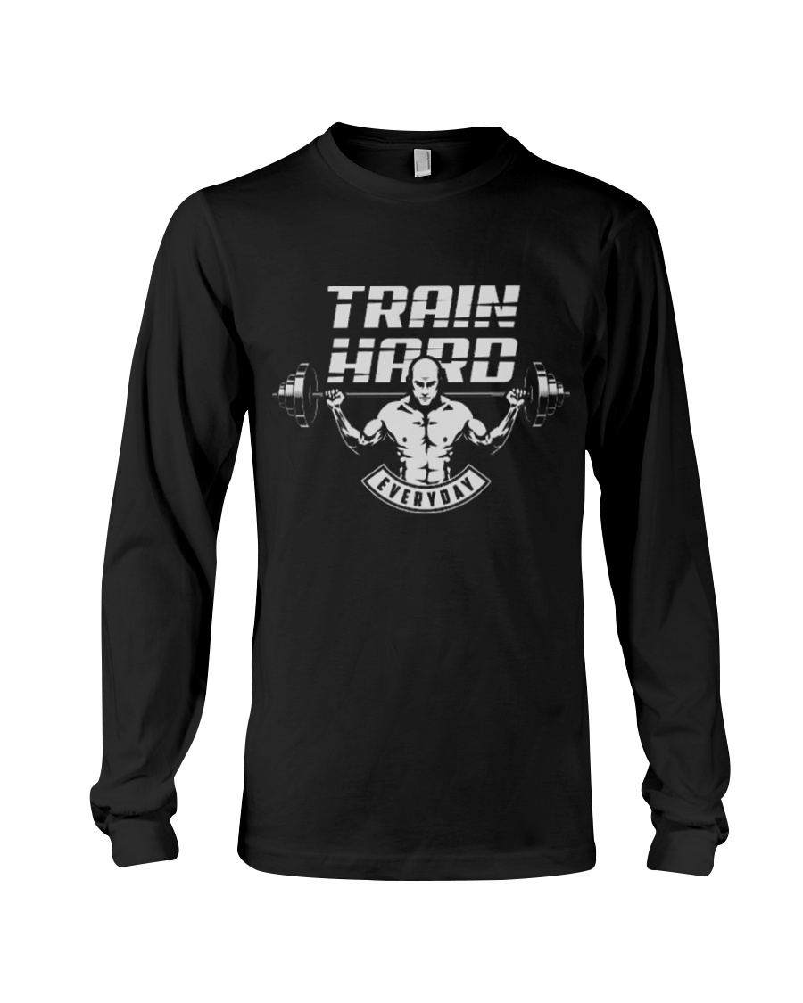 Train Hard Everyday Long Sleeve Tee