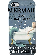 Mermaid Co Bath Soap Phone Case tile