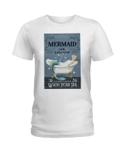 Mermaid Co Bath Soap Ladies T-Shirt tile