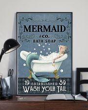 Mermaid Co Bath Soap 11x17 Poster lifestyle-poster-2