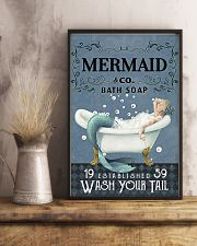 Mermaid Co Bath Soap 11x17 Poster lifestyle-poster-3