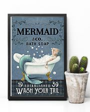 Mermaid Co Bath Soap 11x17 Poster lifestyle-poster-8
