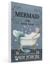 Mermaid Co Bath Soap Gallery Wrapped Canvas Prints tile