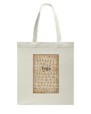 Iyengar yoga asanas Tote Bag thumbnail