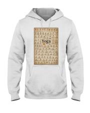 Iyengar yoga asanas Hooded Sweatshirt thumbnail