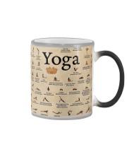 Iyengar yoga asanas Color Changing Mug thumbnail