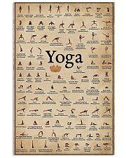 Iyengar yoga asanas 11x17 Poster front