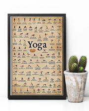 Iyengar yoga asanas 11x17 Poster lifestyle-poster-8