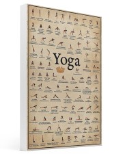 Iyengar yoga asanas 16x24 Gallery Wrapped Canvas Prints thumbnail