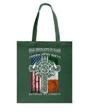 Irish Firefighter By Blood Tote Bag thumbnail