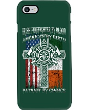 Irish Firefighter By Blood Phone Case thumbnail