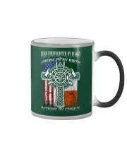 Irish Firefighter By Blood Color Changing Mug thumbnail