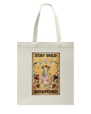 Stay wild moon child yoga Tote Bag thumbnail
