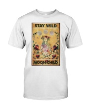 Stay wild moon child yoga Classic T-Shirt tile