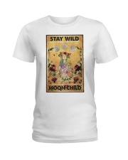 Stay wild moon child yoga Ladies T-Shirt tile