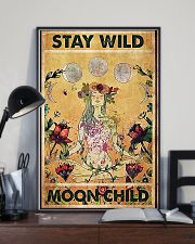 Stay wild moon child yoga 11x17 Poster lifestyle-poster-2