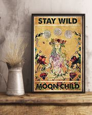 Stay wild moon child yoga 11x17 Poster lifestyle-poster-3