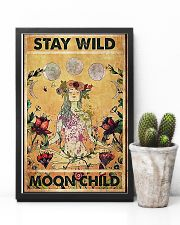 Stay wild moon child yoga 11x17 Poster lifestyle-poster-8