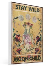 Stay wild moon child yoga 16x24 Gallery Wrapped Canvas Prints thumbnail