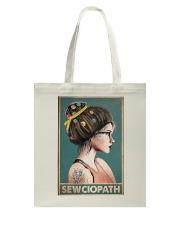 Sewing Sewciopath Poster Tote Bag thumbnail