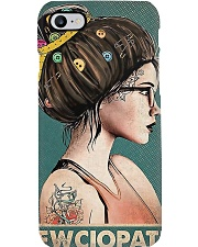 Sewing Sewciopath Poster Phone Case thumbnail