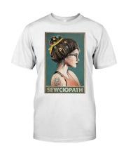 Sewing Sewciopath Poster Classic T-Shirt thumbnail
