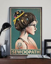 Sewing Sewciopath Poster 11x17 Poster lifestyle-poster-2