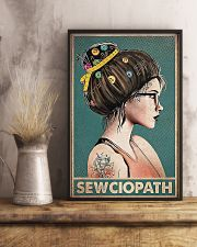 Sewing Sewciopath Poster 11x17 Poster lifestyle-poster-3