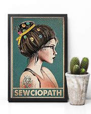 Sewing Sewciopath Poster 11x17 Poster lifestyle-poster-8