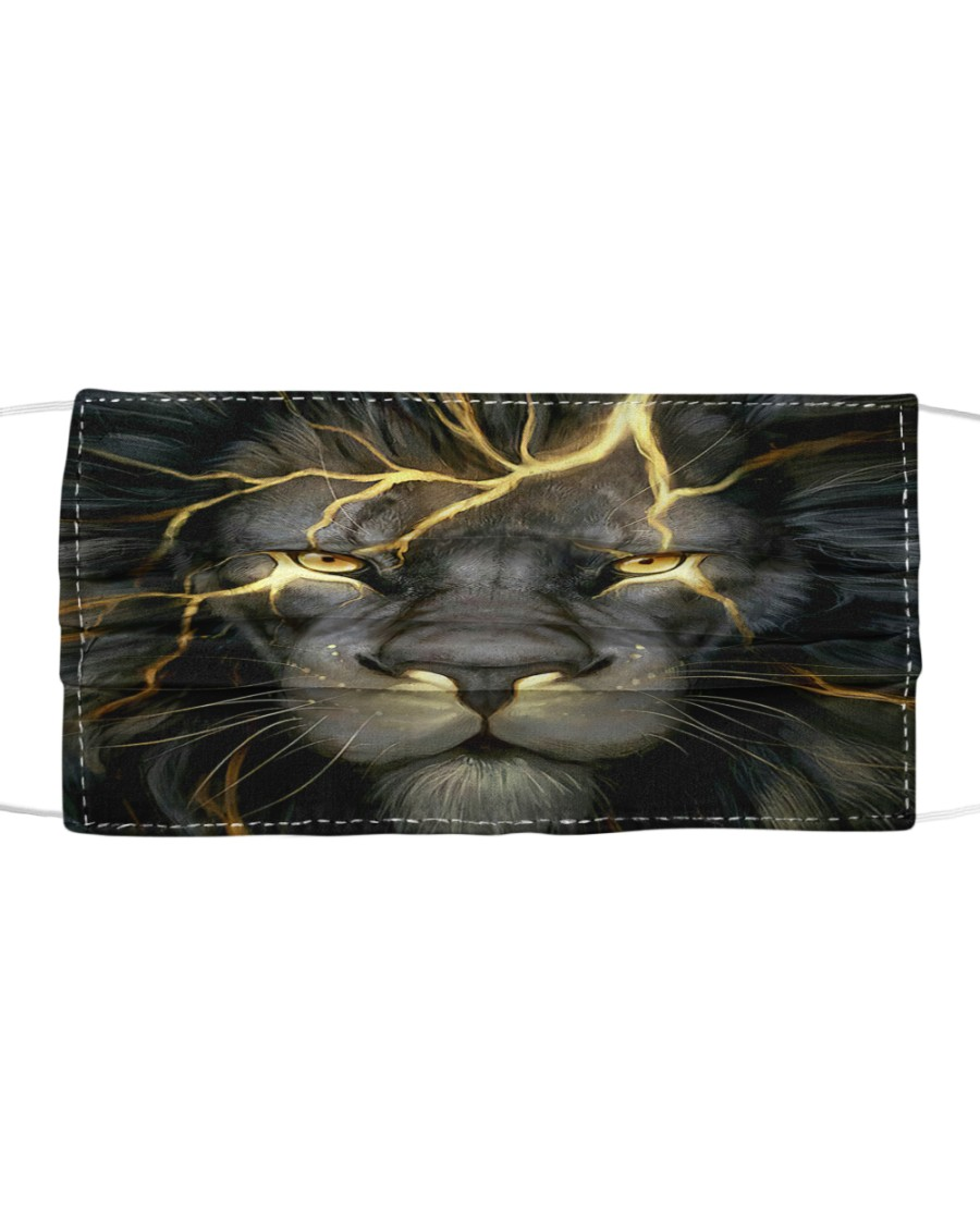 Thunder Lion Cloth face mask