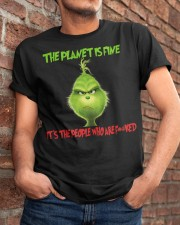 The Planet Is Fine Classic T-Shirt apparel-classic-tshirt-lifestyle-26