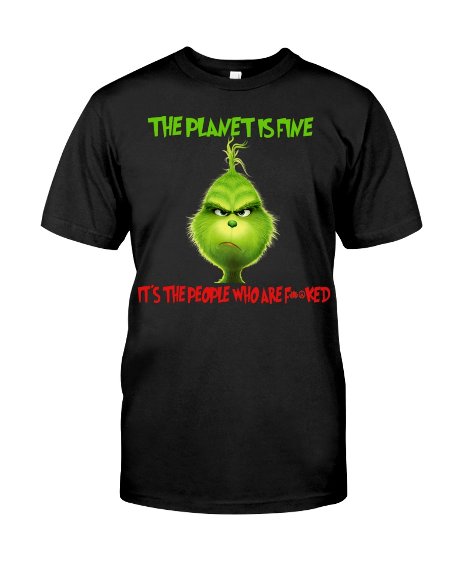 The Planet Is Fine Classic T-Shirt