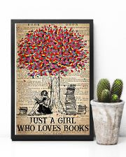 Just A Girl Who Loves Books 16x24 Poster lifestyle-poster-8