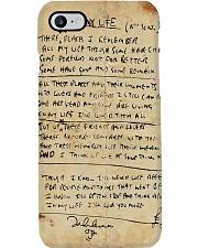 In My Life Lyrics JL Phone Case thumbnail