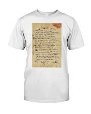 In My Life Lyrics JL Classic T-Shirt thumbnail