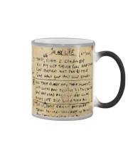 In My Life Lyrics JL Color Changing Mug thumbnail