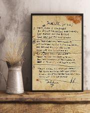 In My Life Lyrics JL 11x17 Poster lifestyle-poster-3