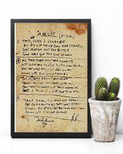 In My Life Lyrics JL 11x17 Poster lifestyle-poster-8