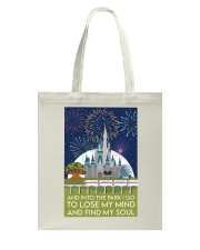 Into the park poster Tote Bag thumbnail