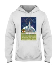 Into the park poster Hooded Sweatshirt thumbnail