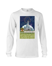 Into the park poster Long Sleeve Tee thumbnail