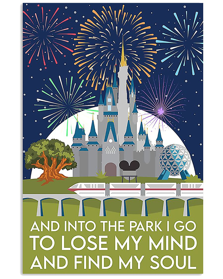 Into the park poster 11x17 Poster
