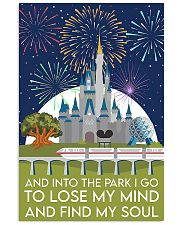 Into the park poster 11x17 Poster front