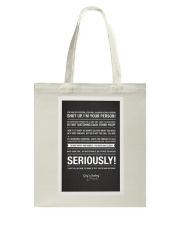 Shut Up You Are My Person Tote Bag thumbnail