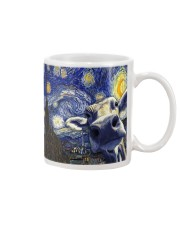 Heifer In Starry Night Mug thumbnail