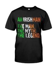 An Irishman Classic T-Shirt front