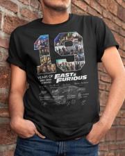 19 Years Anniversary Fast Classic T-Shirt apparel-classic-tshirt-lifestyle-26