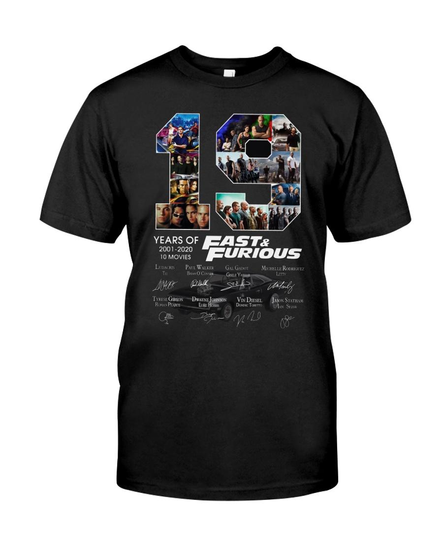 19 Years Anniversary Fast Classic T-Shirt