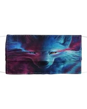 Magic Wolf Cloth face mask front