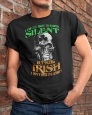 Irish Skull Classic T-Shirt apparel-classic-tshirt-lifestyle-26